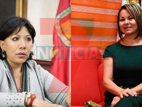 Firman pacto de civilidad Anabell Ávalos Zempoalteca y Minerva Hernández Ramos