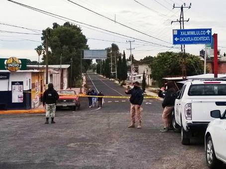 Evacuan a cientos de pobladores por fuga de Gas LP en Tenanyecac, Nativitas