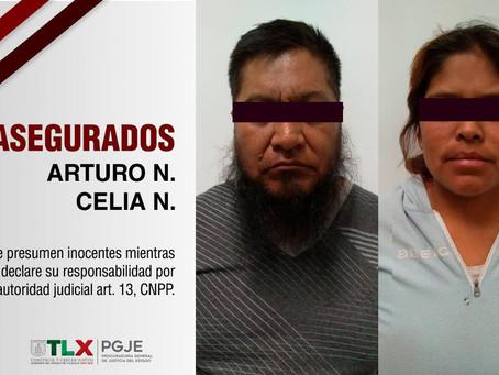 ASEGURA PGJE A DOS PERSONAS CON 20 ENVOLTORIOS DE DROGA SINTÉTICA