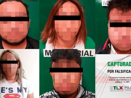 CAPTURAN PROCURADURÍA DE TLAXCALA Y FISCALÍA DEL EDOMEX A BANDA DEDICADA AL FRAUDE DE CAJEROS