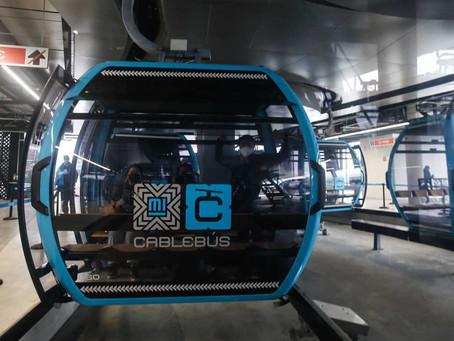Inauguran Cablebús línea 1 en la CDMX