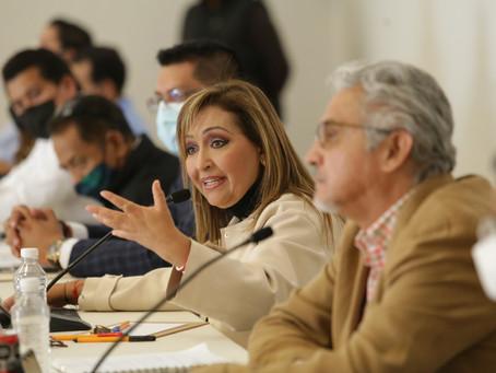Coordinación y apoyo, ofrece Lorena Cuéllar a alcaldes electos