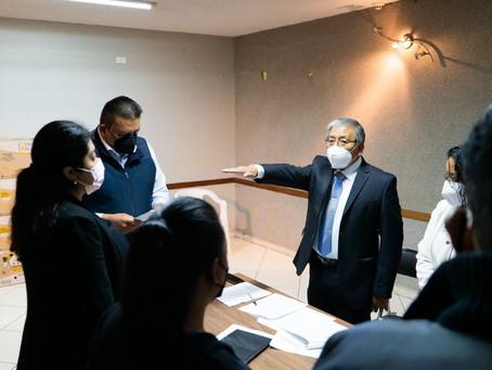 Nombran a Ricardo Lara Pérez como secretario del Ayuntamiento de Papalotla