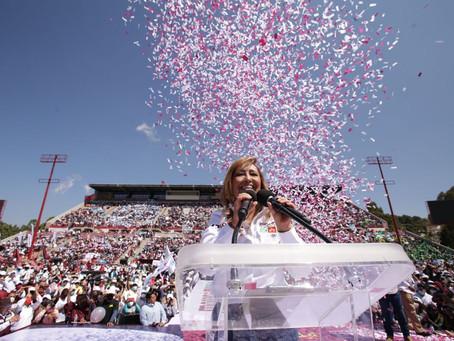 Rendirá protesta Lorena Cuéllar como gobernadora de Tlaxcala en el estadio Tlahuicole