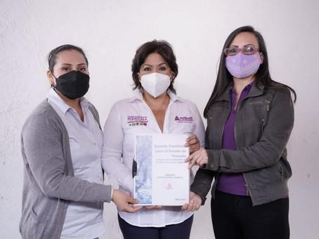 """""""La violencia de ningún tipo entra en mi proyecto de gobierno"""": Anabell Ávalos"""