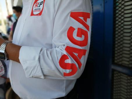 Con gran éxito SAGA candidato a gobernador por RSP inicia gira en San Pablo del Monte.