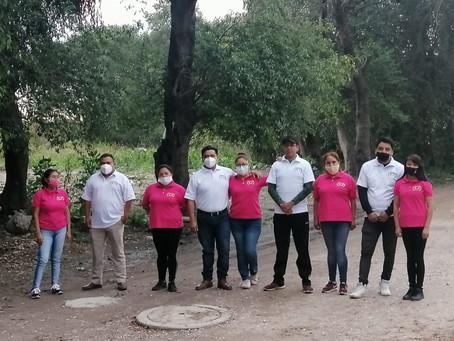 Asociación Civil (CEMPPAC) ubicada en el Municipio de Papalotla apoya la economía familiar con verdu