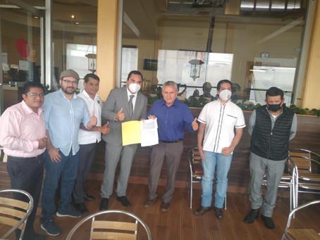 La CONORAF firma importante convenio en Jalapa Veracruz, y transmite la Herencia Cultural de Tlaxcal