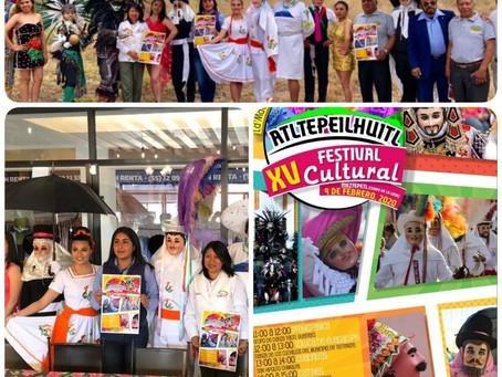 Inician los Carnavales en Tlaxcala, presentan XV Festival Cultural Atltepeilhuitl en PAPALOTLA