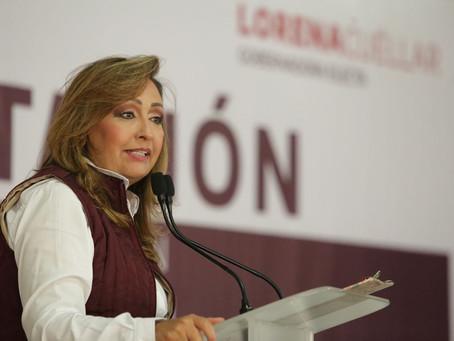 Encabeza Lorena Cuéllar trabajos de capacitación de equipos de transición