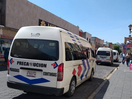PREVÉN PÉRDIDAS ECONÓMICAS DE HASTA 70 POR CIENTO EN EL SERVICIO DE TRANSPORTE COLECTIVO POR CUARENT