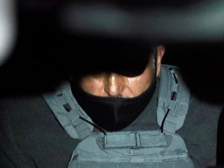 FGR y Guardia Nacional escoltan a Emilio Lozoya al reclusorio Norte