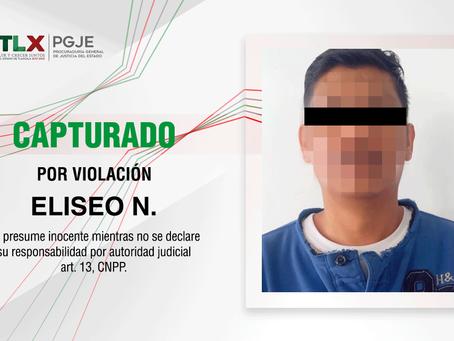 CAPTURA PGJE A MAESTRO DE TELESECUNDARIA POR VIOLACIÓN