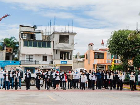Papalotla se suma a conmemoración de 174 Aniversario de Gesta Heroica de Chapultepec