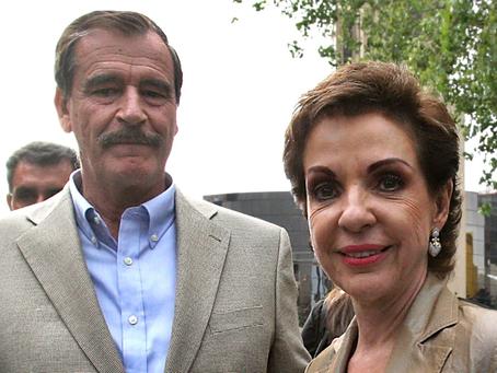 El expresidente de México Vicente Fox Quesada y su esposa Martha Sahagún dan positivo al COVID-19.