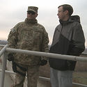 Steve Fullhart in Afghanistan
