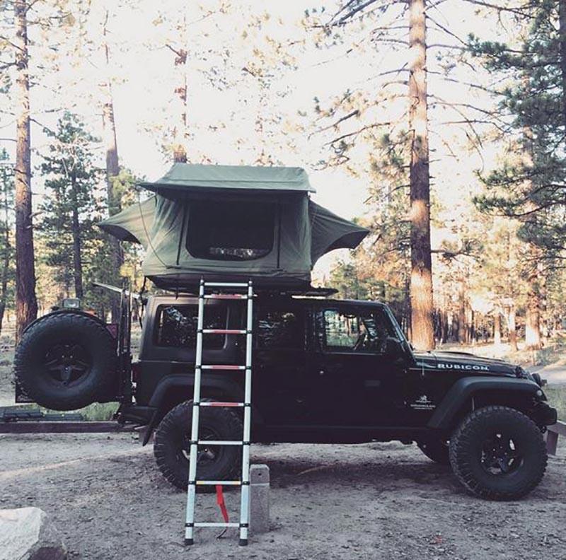 Jeep Rubicon Rootop Setup
