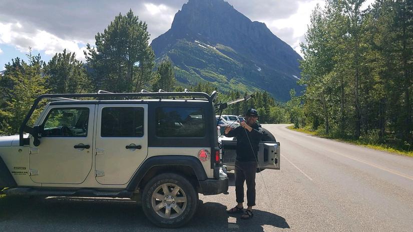 Jeep Wrangler 4-Door - Glacier National Park