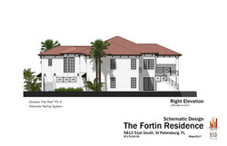 Fortin - Right Elevation