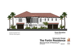 Fortin - Front Elevation