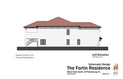 Fortin - Left Elevation