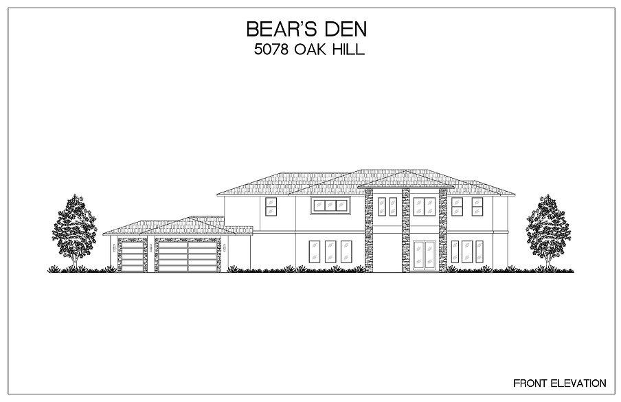 BEAR'S DEN OAK HILL ELEVATION.jpg