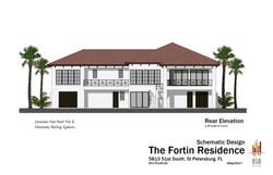 Fortin - Rear Elevation