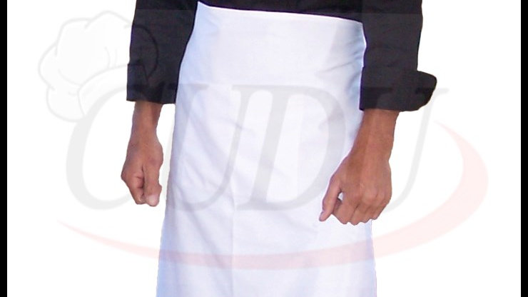 Chef Aprons - 3/4 White or Black