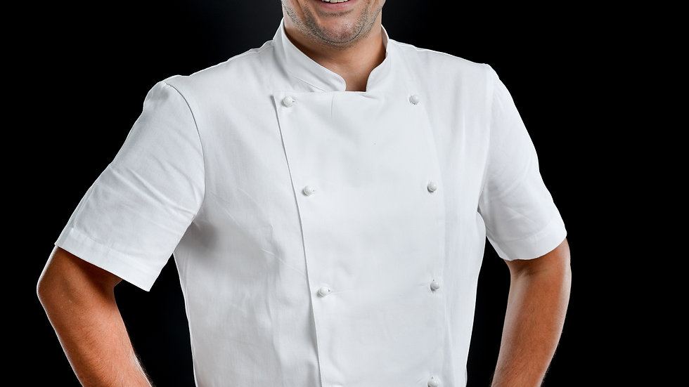 Chef Traditional White Short Sleeve Jackets