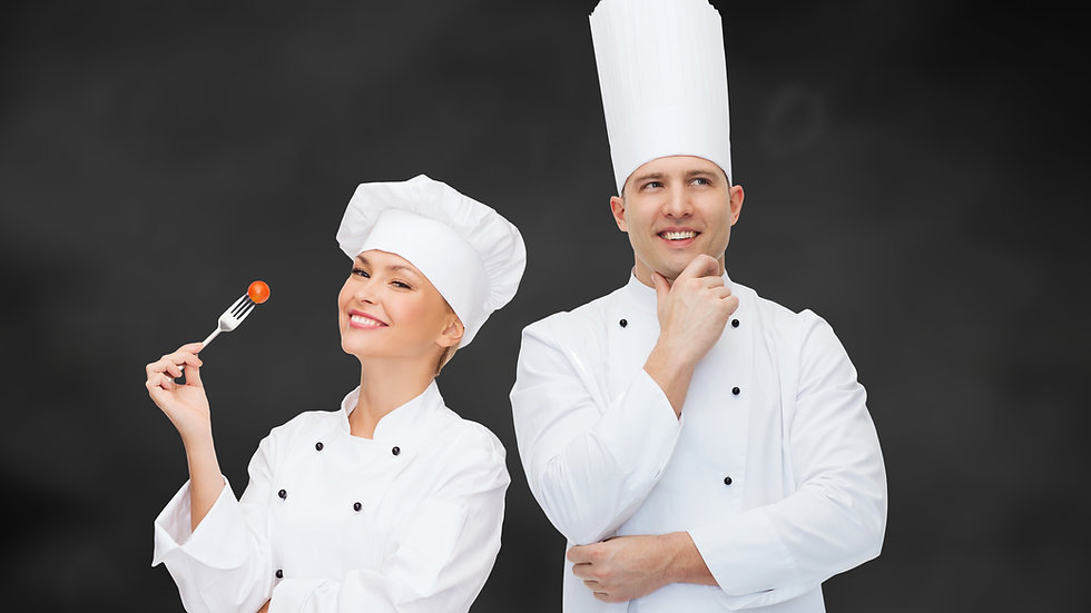 Chef Traditional White Long Sleeve Jackets