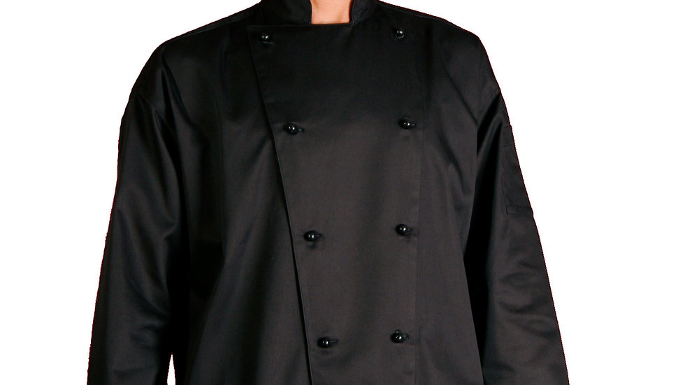 Chef Traditional Black Long Sleeve