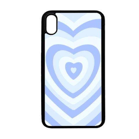 baby blue hearts
