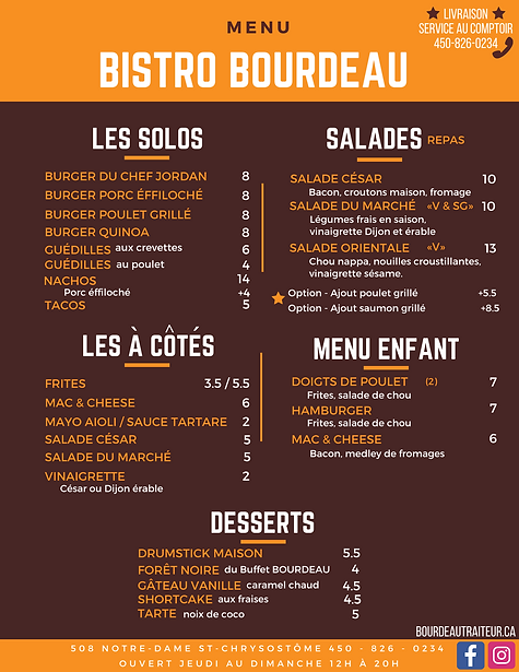 Orange and Brown Burgery Takeout Menu (1