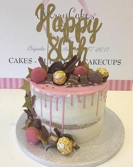Happy 80th Birthday 💕_•_•_•_•_•_#cakes