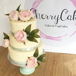 Our New Buttercream and Peony Wedding Di