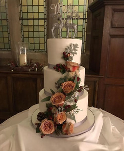 Our last Wedding Cake of 2018 went to _w