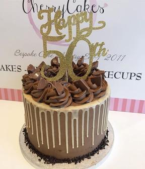 Happy 50th Birthday!_._Chocolate & Caram