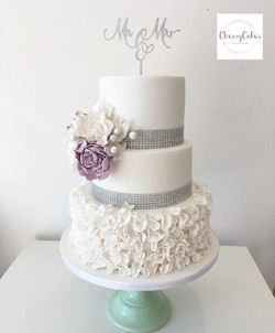 Such a beautiful Cake for Nicola & Craig