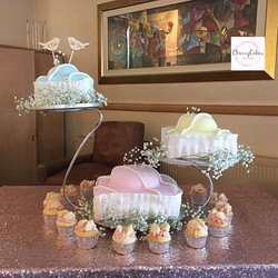We loved creating this Wedding Cake for