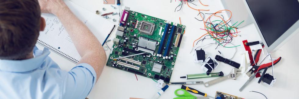 We work with Inventors