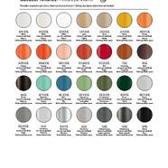 Pedrali kűltéri fém színek