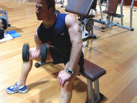 Tiempo de entrenamiento en el gimnasio