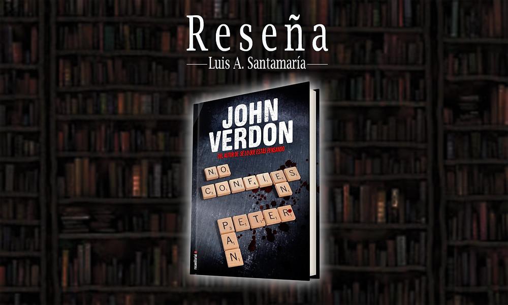 Con No confíes en Peter Pan, Verdon vuelve a utilizar su manida fórmula para crear bestsellers