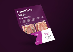 Oasis Dental - Print Advertisement