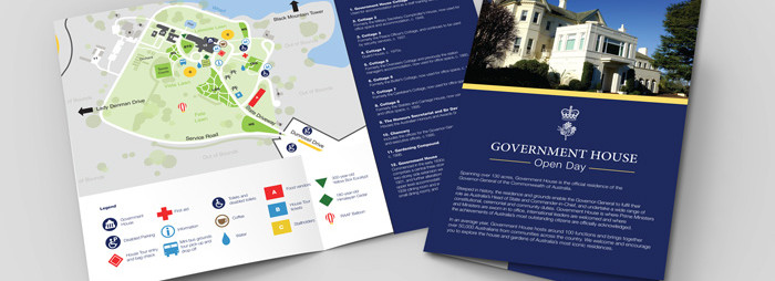 Government House Open Day Flyer