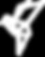 Origami bird icon