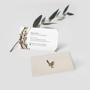 Sharon Prins Photography Business Card Design