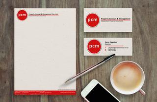 PCM Stationery Design