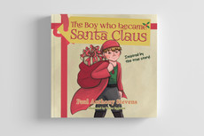 The Boy who became Santa Claus - Layout and Illustration