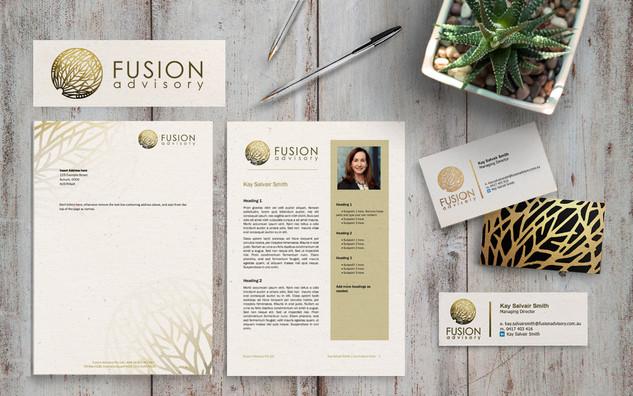 Fusion Stationery Design